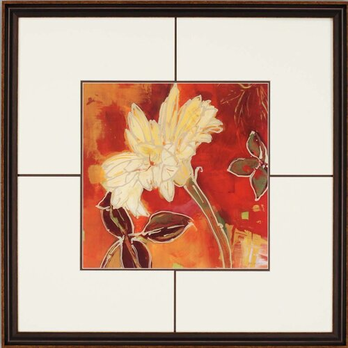 Gerber Garden II by Lady Framed Painting Print