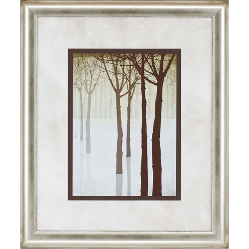 Paragon Winter's Silhouette II by Butler Framed Painting Print