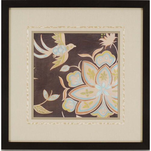 Paragon Heirloom Floral III by Vess Framed Painting Print