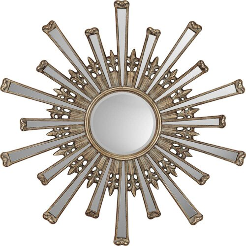 Retro Starburst Contemporary Wall Mirror