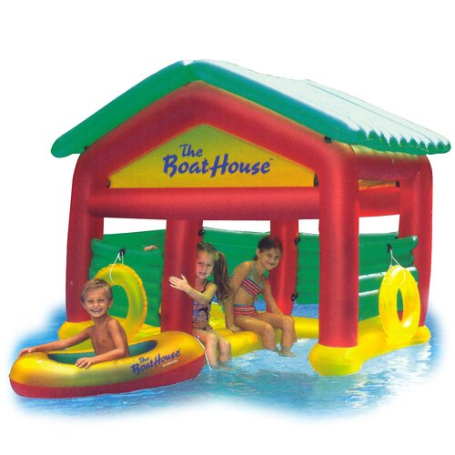 Boat House Habitat Pool Toy