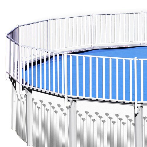 Heritage Pools 24' x 12' Fensurround Pool Fence