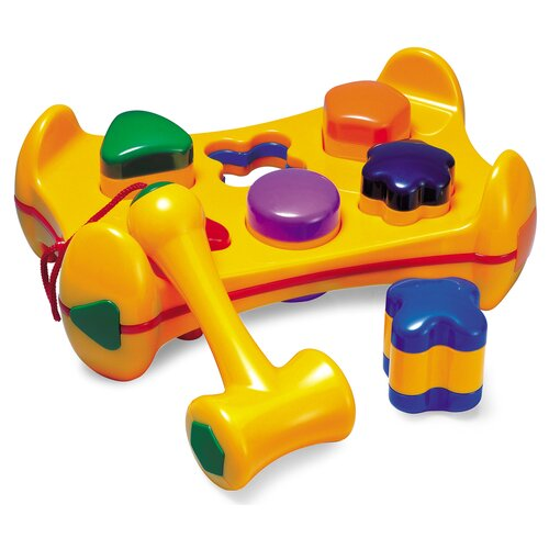 Shape Sorter Play Bench