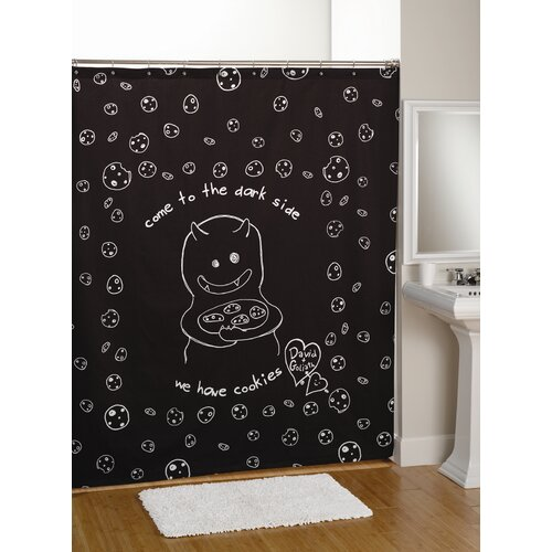 David & Goliath Cookies Shower Curtain