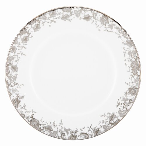 "Marchesa by Lenox French Lace 10.75"" Dinner Plate"