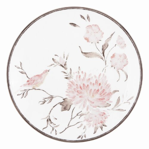 "Marchesa by Lenox Spring Lark 9"" Coupe Accent Plate"