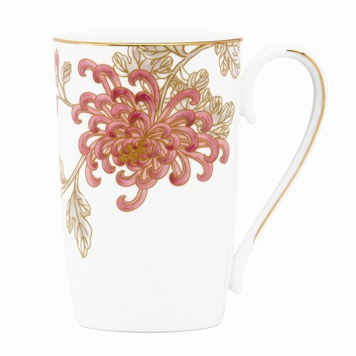 Marchesa by Lenox Painted Camellia 11 oz. Mug