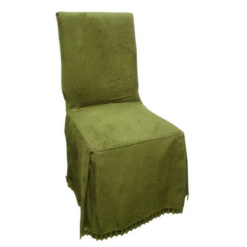 Textiles Plus Inc. Faux Suede Dining Chair Slipcover
