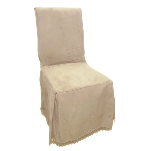 Faux Suede Dining Chair Slipcover
