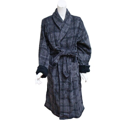 Textiles Plus Inc. Jacquard Velour Adult Robe