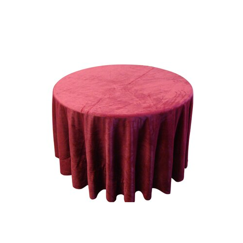 Textiles Plus Inc. Round Tablecloth