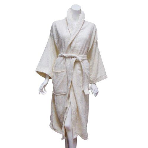 Textiles Plus Inc. Terry Bath Robe