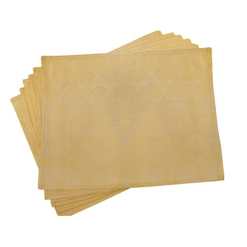 Lined Jacquard Victorian Placemat (Set of 6)