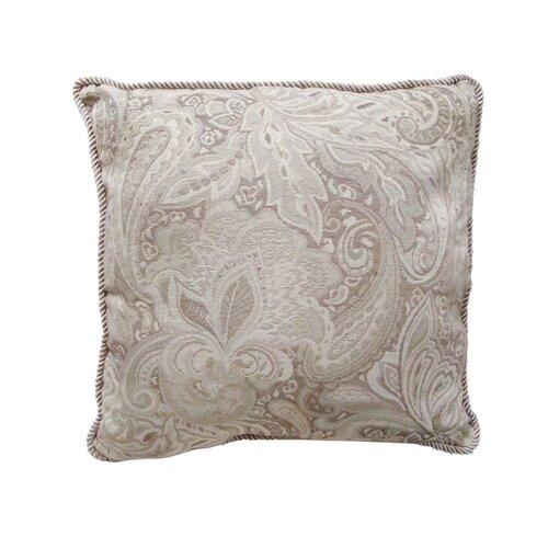 Jacquard Paisley Cushion