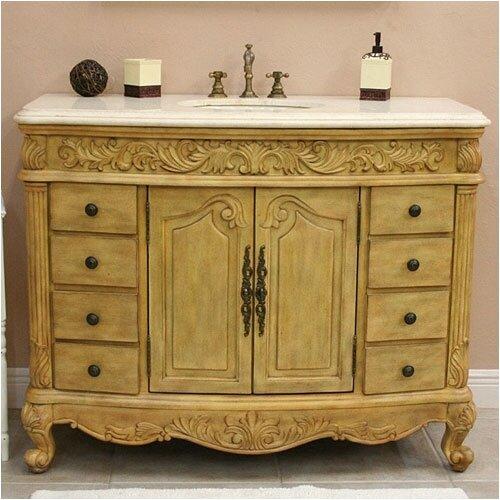 """Global Treasures Hillsdale 48"""" Bathroom Vanity Set"""