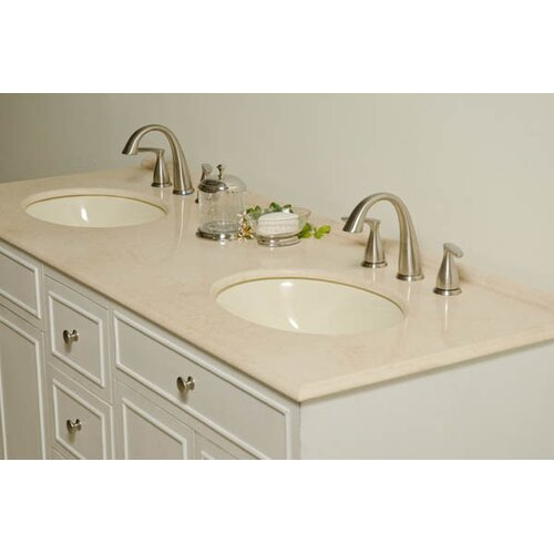 "Global Treasures Janet 60"" Sink Cabinet Bathroom Vanity Set"