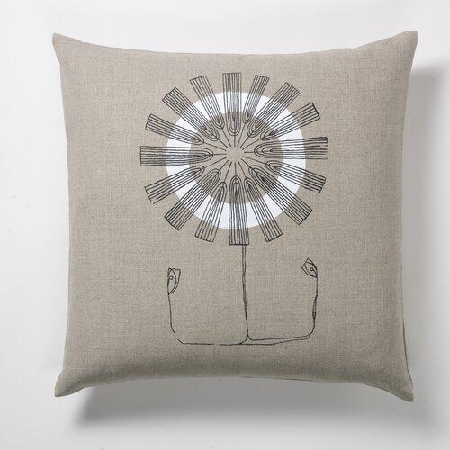 threesheets2thewind Daisy Flower Pillow