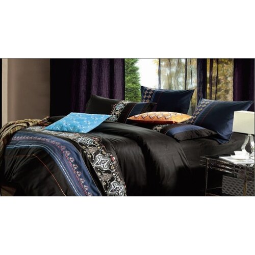 Black Safari 7 Piece Duvet Cover Set