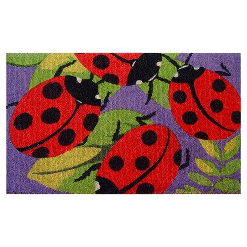 Lady Bugs Doormat