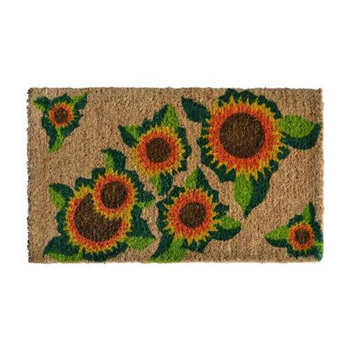 Happy Sunflower Doormat