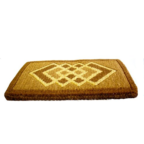 Imports Decor Cross Diamonds Doormat