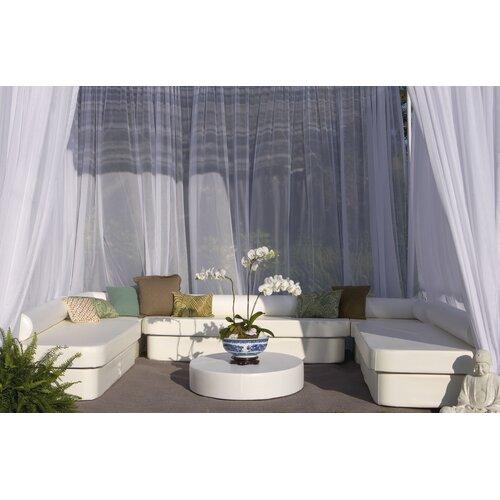 La-Fete Zen Cabana Bench Seating Group