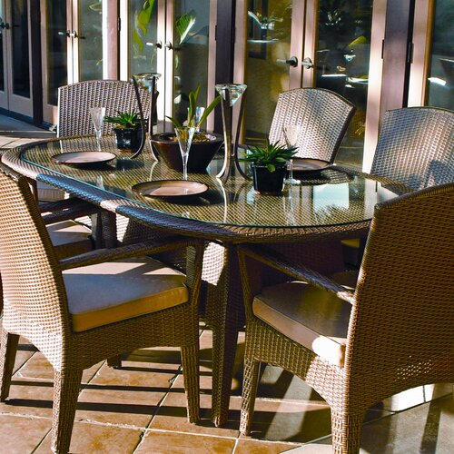 Sunset West Malibu Oval Dining Table