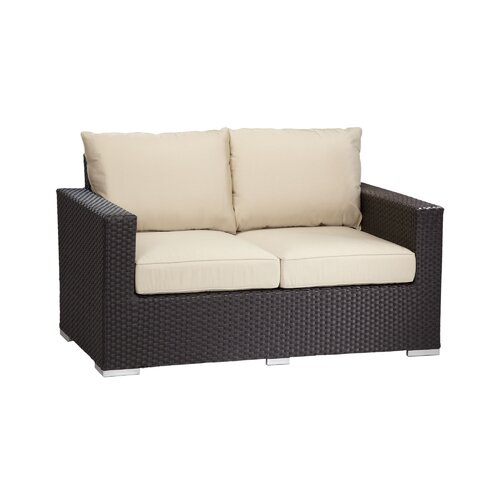 Solana Deep Seating Loveseat with Cushions