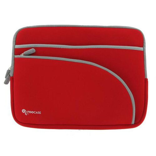 Triple Pocket Neoprene Sleeve Invisible Zipper Case