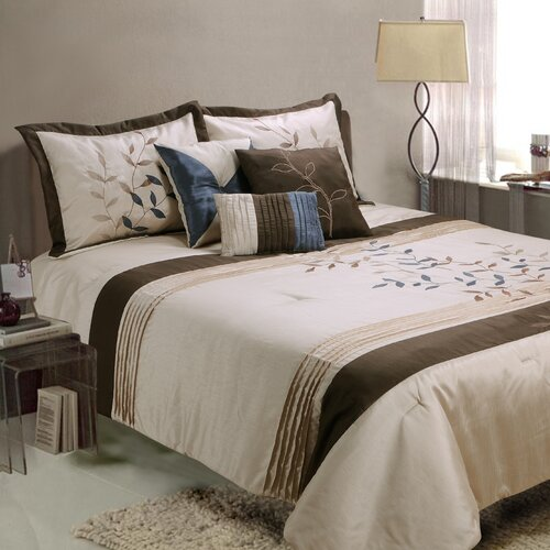 Jenny George Designs Gwynth 7 Piece Comforter Set