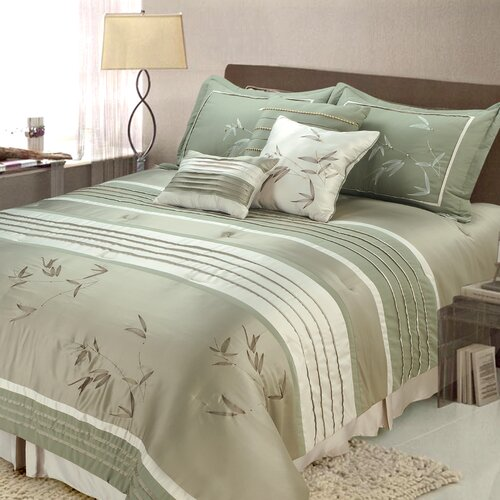 Sansai 7 Piece Comforter Set