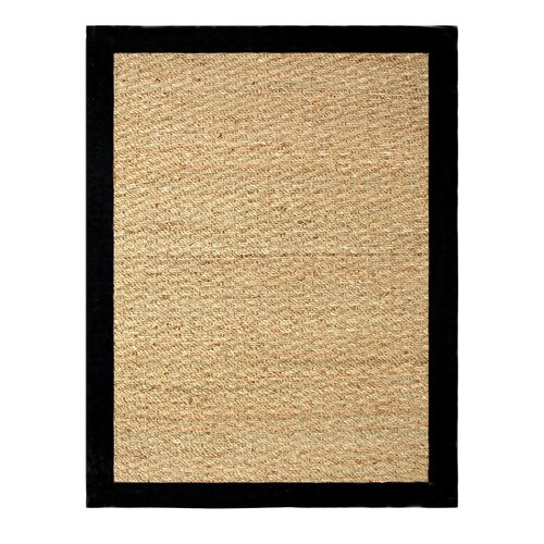 Chesapeake Merchandising Inc. Seagrass Black Rug