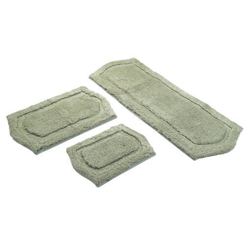 Paradise Memory Foam Bath Rug (3 Piece Set)