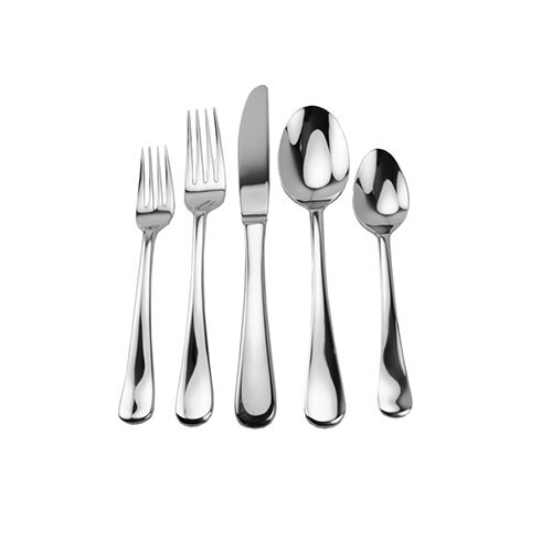 45 Piece Georgia Splendid Flatware Set