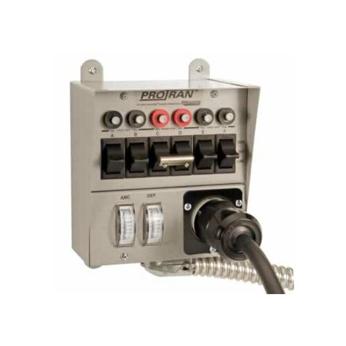 Reliance Controls Pro / Tran Transfer Switch for 5000 Watt Generator
