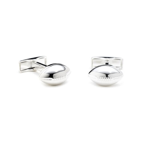 Ravi Ratan Sterling Football Cufflinks