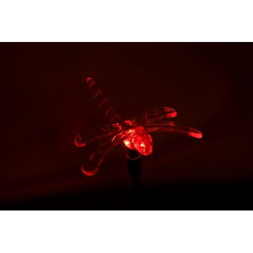 Headwind Consumer Products Solar Dragonfly Garden Stake