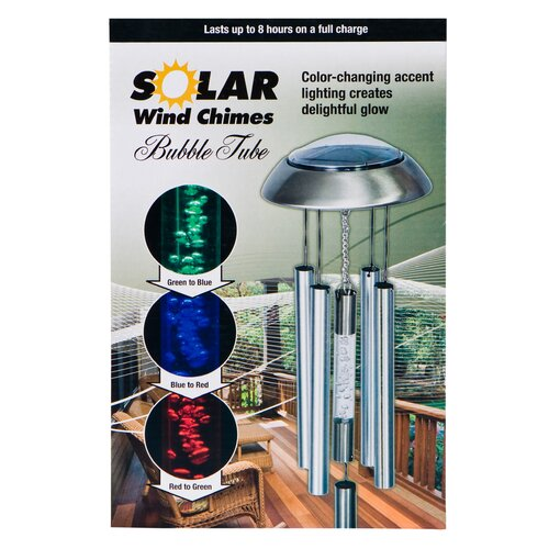 Headwind Consumer Products Solar Bubbletube Wind Chime