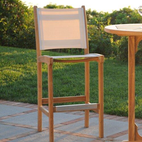 Kingsley Bate St. Tropez Armless Bar Chair