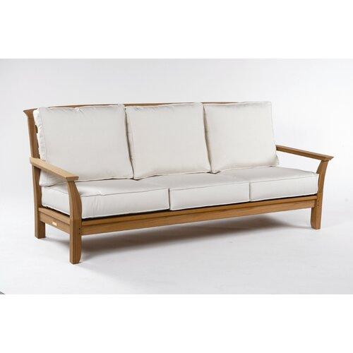 Mandalay Deep Seating Sofa with Cushions