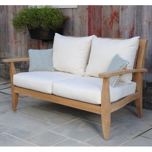 Kingsley Bate Ipanema Deep Seating Settee with Cushions