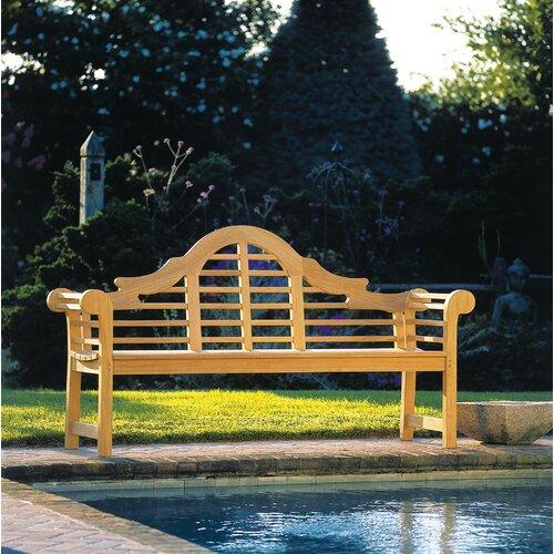 Kingsley Bate Lutyens Teak Garden Bench