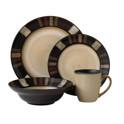 Tahoe 16 Piece Dinnerware Set
