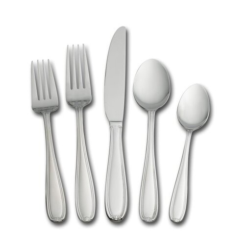 45 Piece Linden Flatware Set