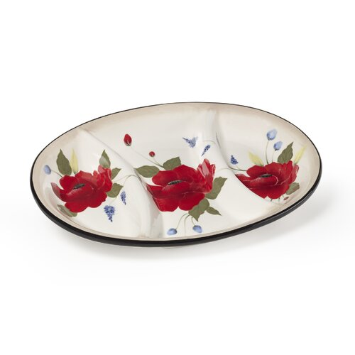 Pfaltzgraff Scarlett Oval Serving Tray