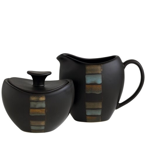 Pfaltzgraff Cayman Sugar and Creamer Set