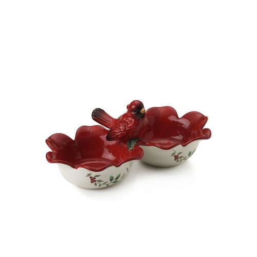 Pfaltzgraff Wintrberry Cardinal Serve Bowl