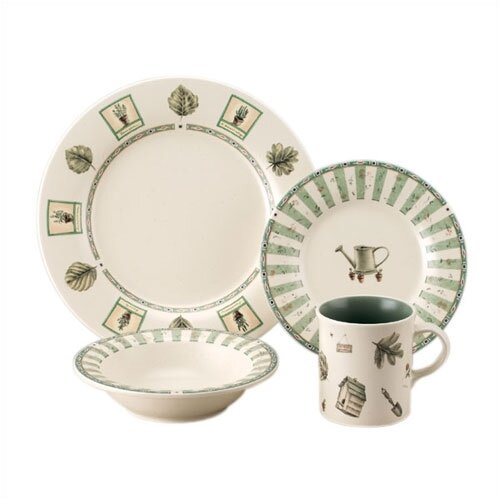 Naturewood 16 Piece Dinnerware Set