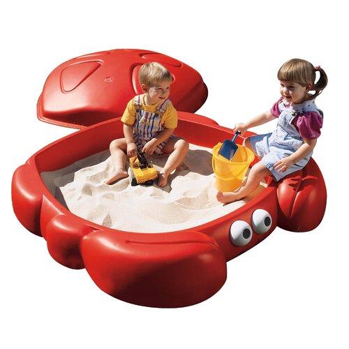 Step2 Crabbie 4' Rectangular Sandbox with Cover