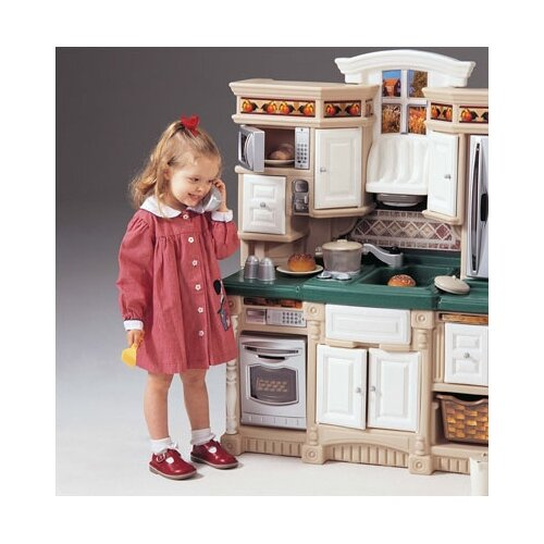 Step2 Lifestyle Deluxe Kids Pretend Kitchen. by Step2. $ $ 99 $ FREE Shipping on eligible orders. out of 5 stars Manufacturer recommended age: 4 - 6 Years. Lifestyle Dream Kitchen The Lifestyle Dream Kitchen is one of the most Step2 LifeStyle Custom Kitchen .